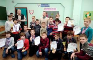 Открытое первенство района Люблино по шахматам